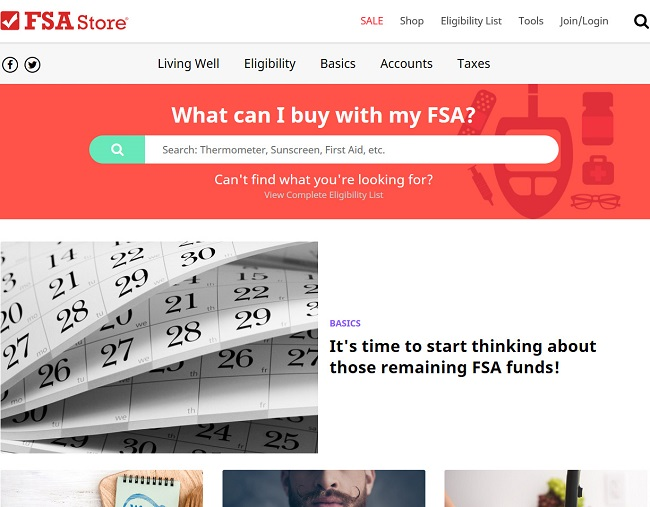 FSA Store - Learning Center